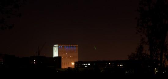 огни ночного Новосиба