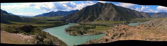 Панорама: Катунь. Алтай