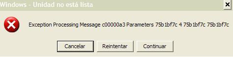 Ошибка программы USBVaccine в Windows XP
