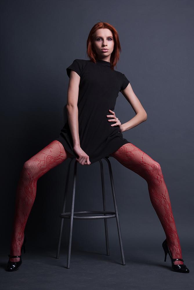 Ножки в красном
